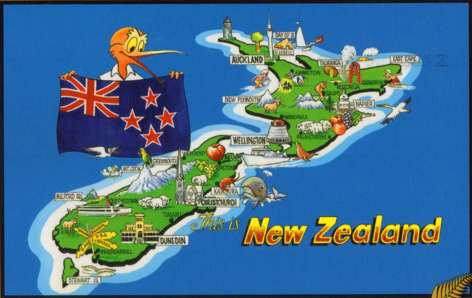 Travel Map New Zealand.Looks Like New Zealand Was First To Restrict Travel For 5 000 In