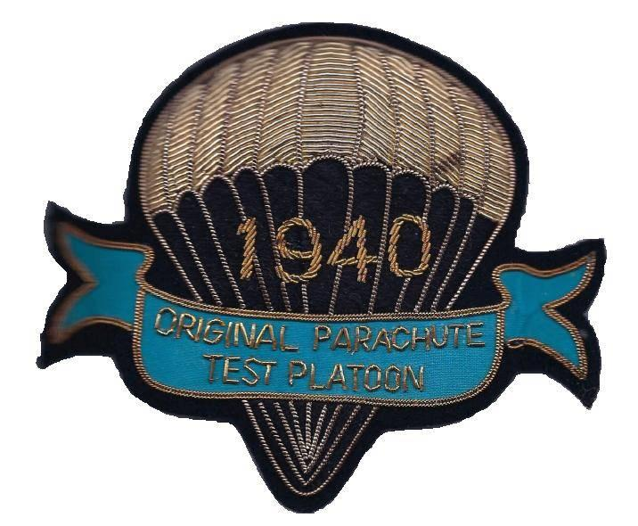 Test Platoon, Parachute Troops and Air Infantry, United States Army