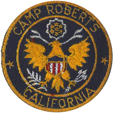 Army Garrison Camp Roberts, CA