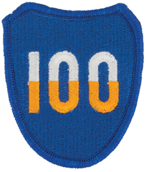 100th Division (Institutional Training)