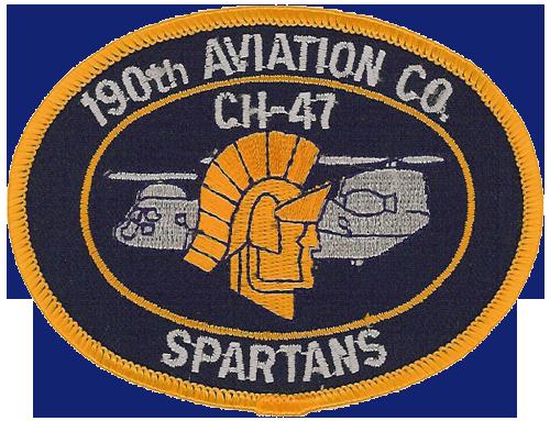 190th Aviation Company, 145th Aviation Battalion