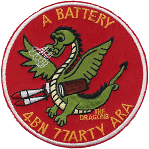 A Battery, 4th Battalion, 77th Aerial Rocket Artillery (77th ARA)