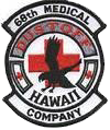 68th Medical Company (Air Ambulance), Aviation Brigade, 25th Infantry Division