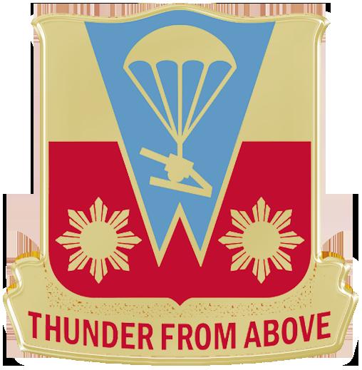 674th Airborne Field Artillery Battalion (105mm) , 187th Airborne Regimental Combat Team