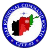 Regional Command South (RC South), Security Assistance Force (ISAF) Afghanistan