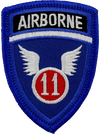 Division Artillery (DIVARTY) 11th Airborne Division