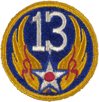 USAAF 13th Army Air Force