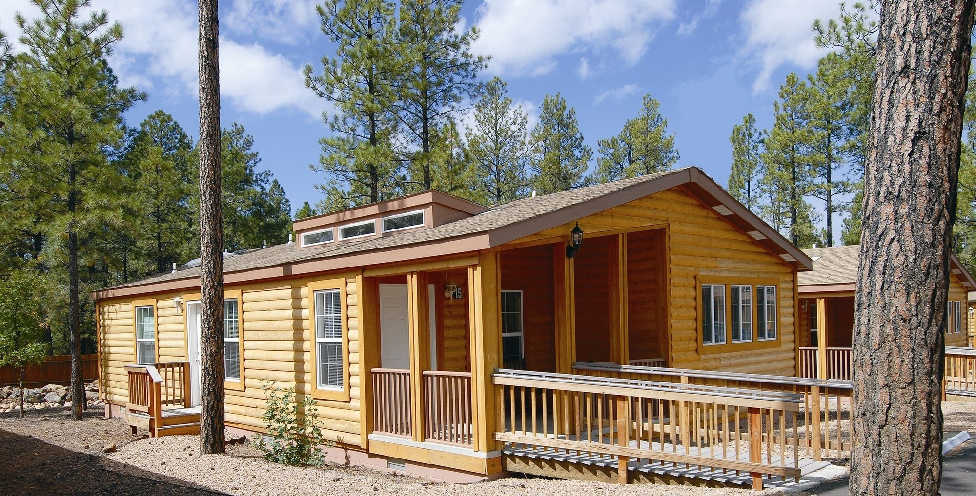 mountain pinetop cabins meadows in
