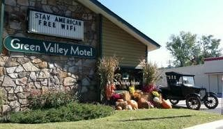 Green Valley Motel in Pigeon Forge, TN