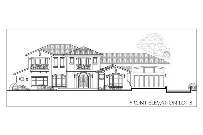 3 front elevation