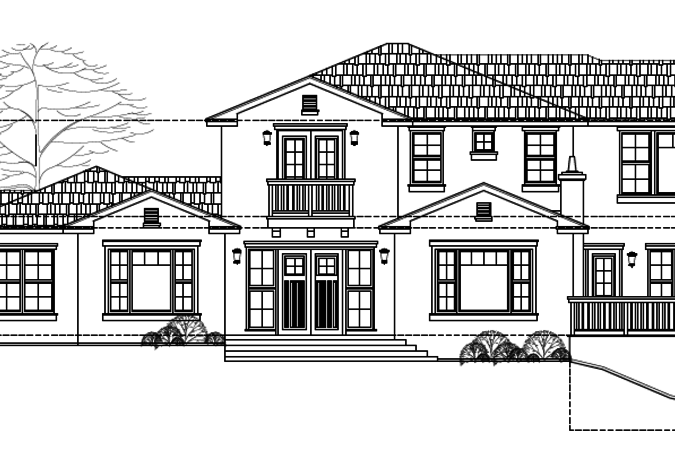 Magdalena lot 1 front elevation