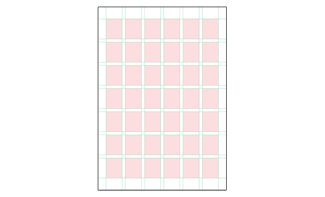 Adobe Illustrator Grid Templates – International Page Sizes