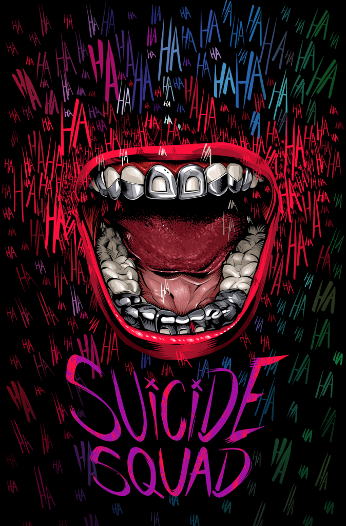 Suicide Squad - Alternative Movie Poster by Cristiano Siqueira
