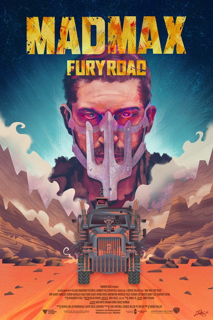 Mad Max Fury Road by Ladislas Chachignot