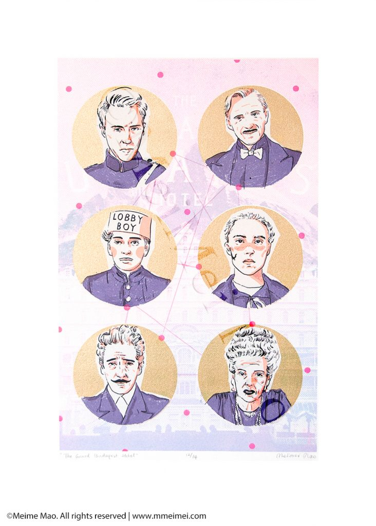 The Grand Budapest Hotel by Meimei Mao