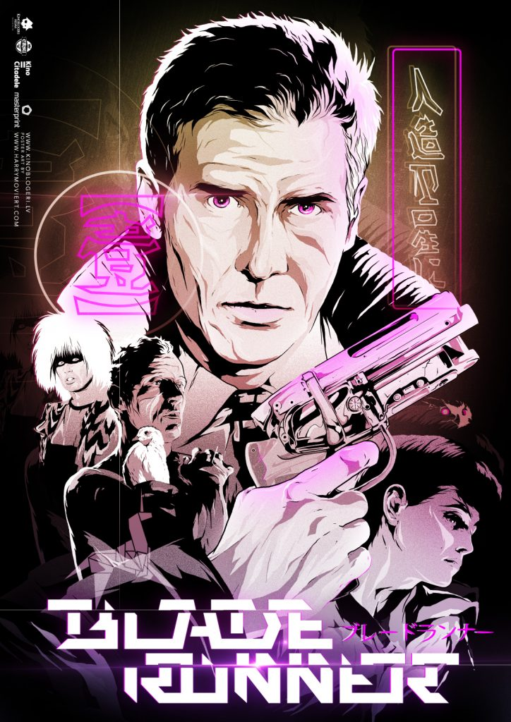 Blade Runner by Harry Movie Art
