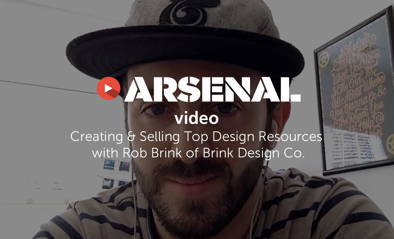 Creating & Selling Top Design Resources with Rob Brink of Brink Design Co.