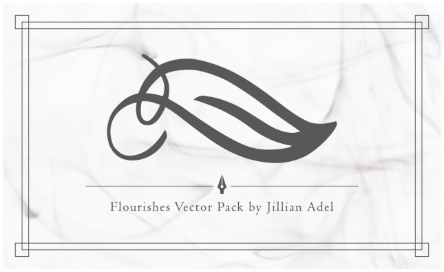 Flourishes Vector Pack