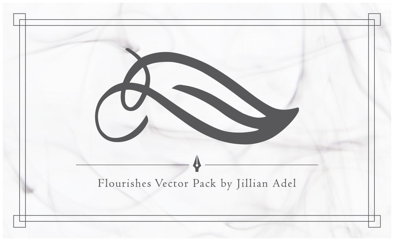 flourish vector sample pack - photo #23