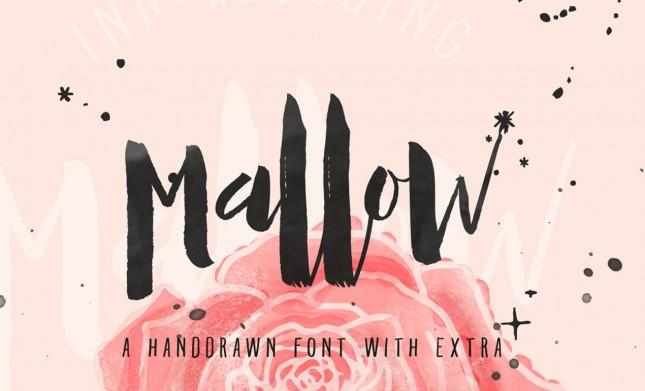 Mallow-Handwritten-Typeface-Hero