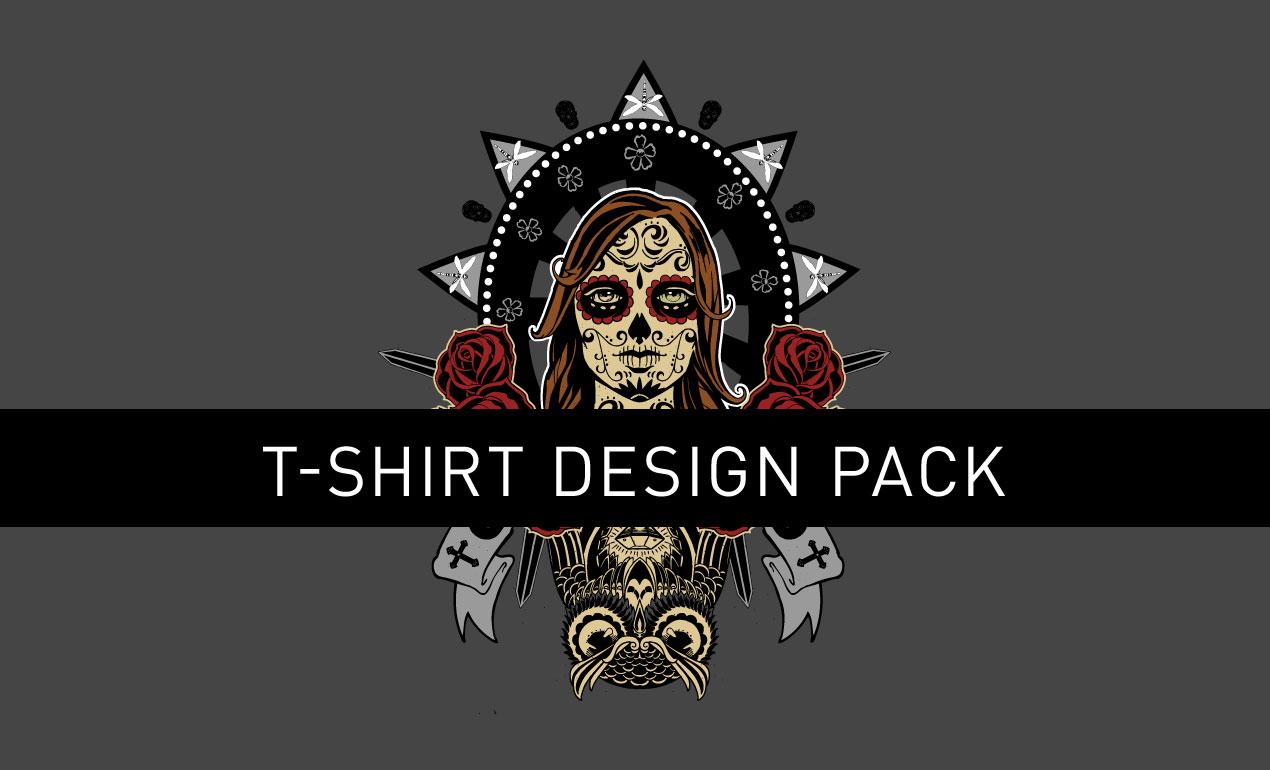 Day of the dead vector t shirt design go media 39 s arsenal for T shirt design vector free