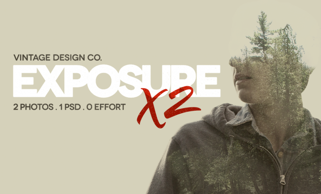 double exposure photo effect exposurex2-cover-o