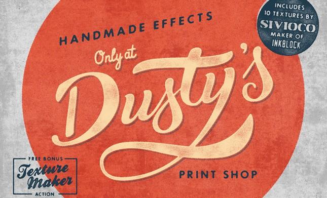Dusty's Print Shop Smart PSD
