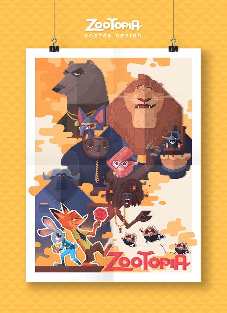 Zootopia by Cynthia Xing