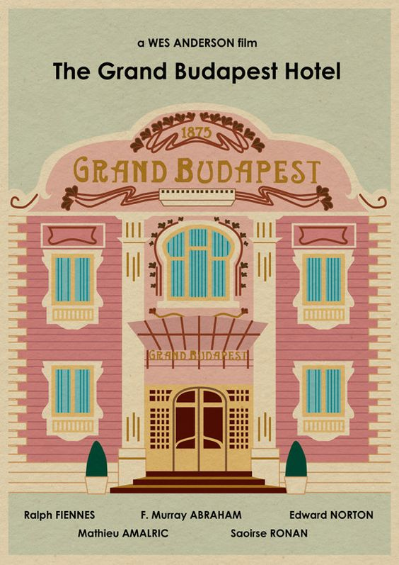The GRAND BUDAPEST HOTEL by MonsterGallery