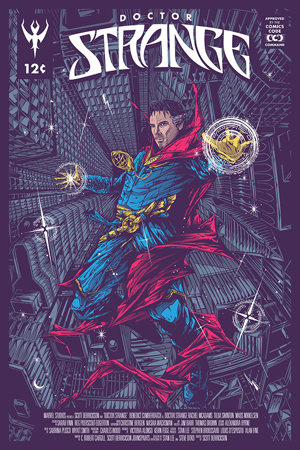 Doctor Strange by Dean Falsify Cook