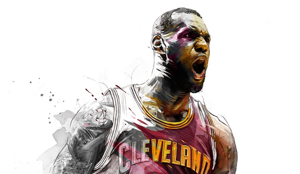 LeBron James by Yann Dalon