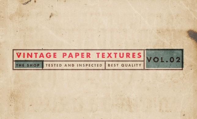 Vintage Paper Textures Photoshop
