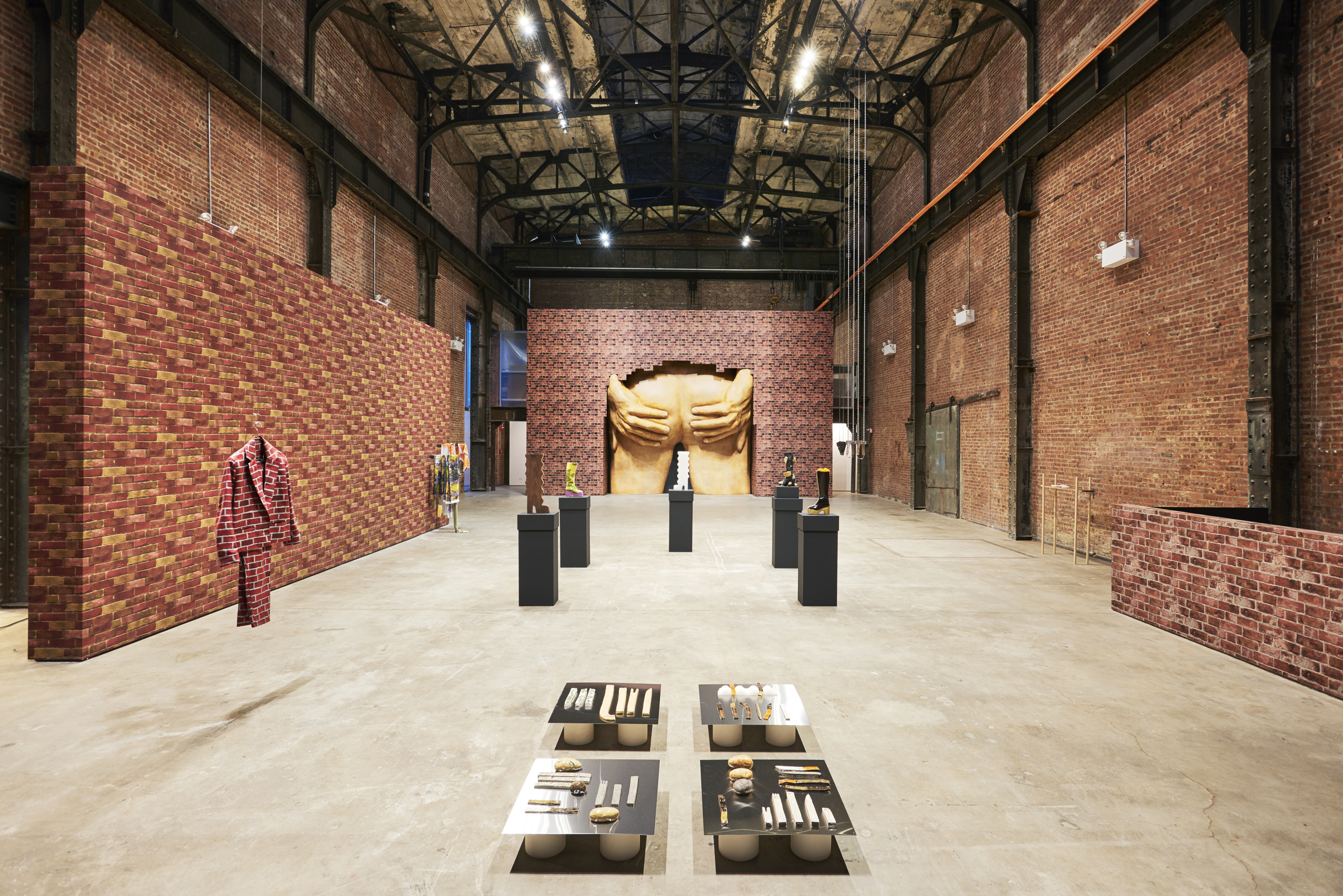 Installation view of Martine Syms: Vertical Elevated Oblique at Bridget Donahue, New York, New York, September 17, 2015 - November 01, 2015. Courtesy of Bridget Donahue.