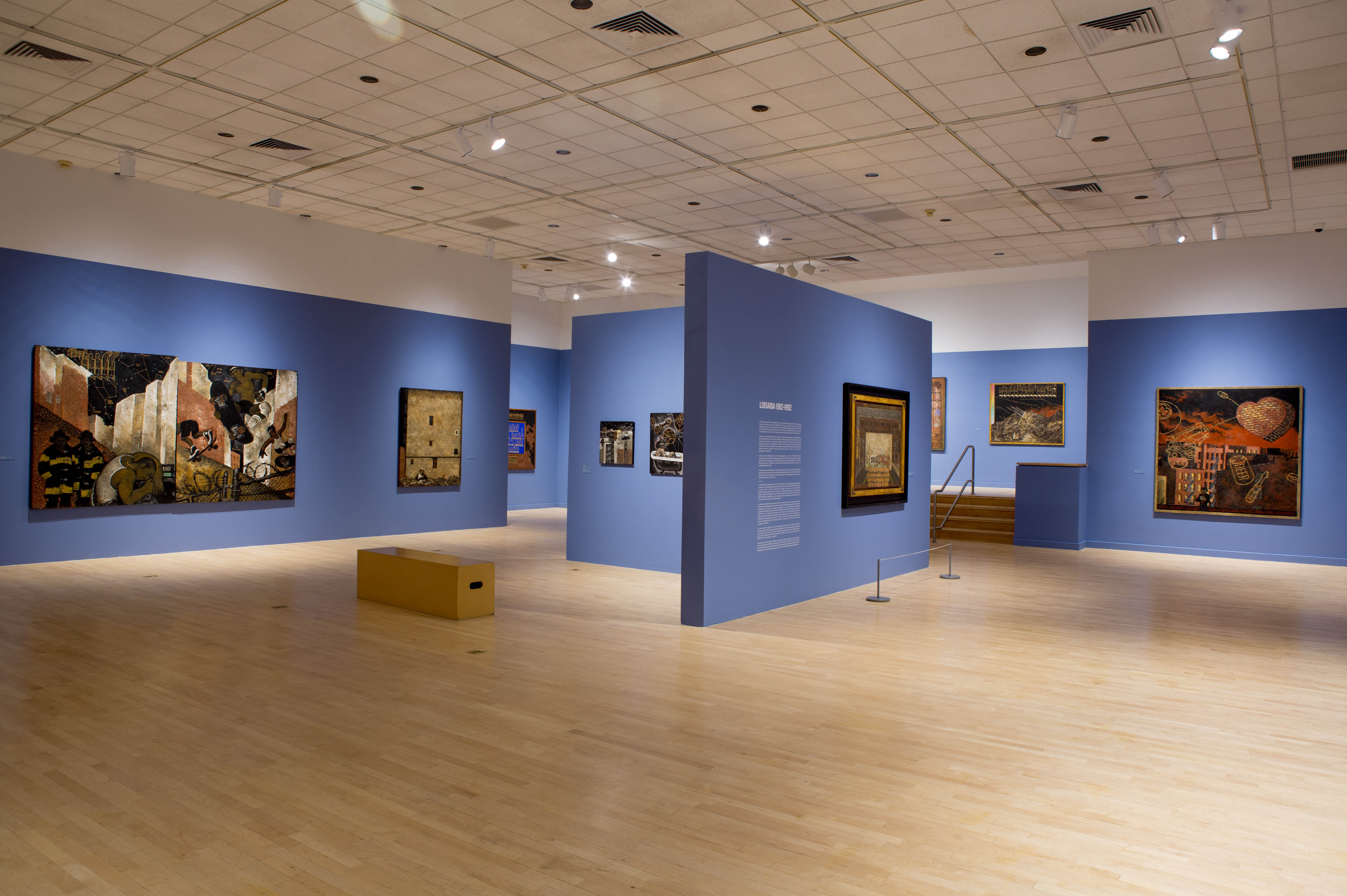 Installation view of 'Martin Wong: Human Instamatic' at The Bronx Museum. Photo by Joel Greenberg