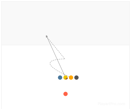 Flag Football Play 2598