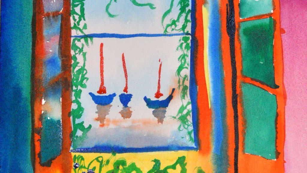 "Copy of ""Open Window"" by H. Matisse"