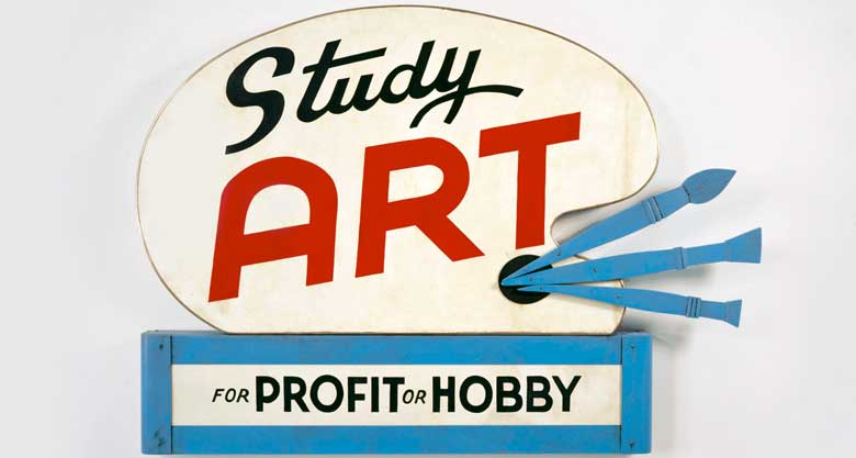 Study Art for Profit or Hobby