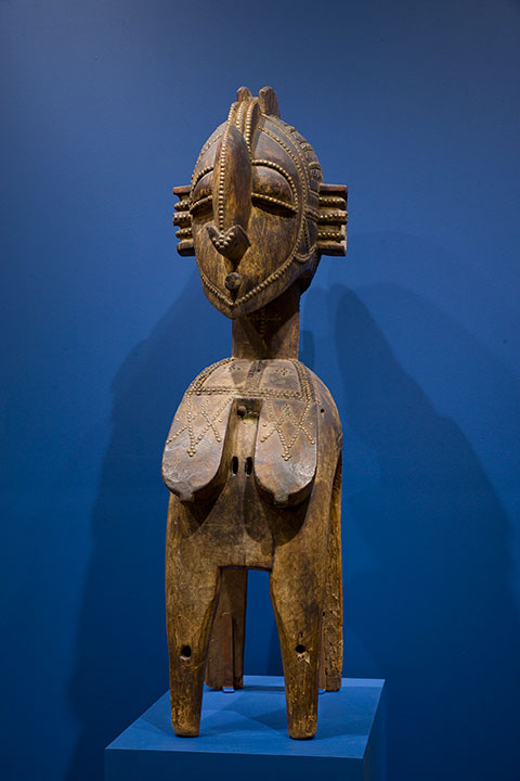 The D'mba is a highlight of the African collection.