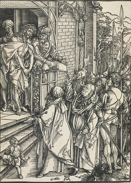 Albrecht Dürer. <em>Ecce Homo.</em> c. 1498.
