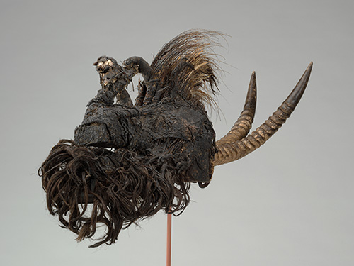 Kómó Society Helmet Mask (Kómókum). Manding or Miniakna peoples (Mali or Guinea). Early 20th century.