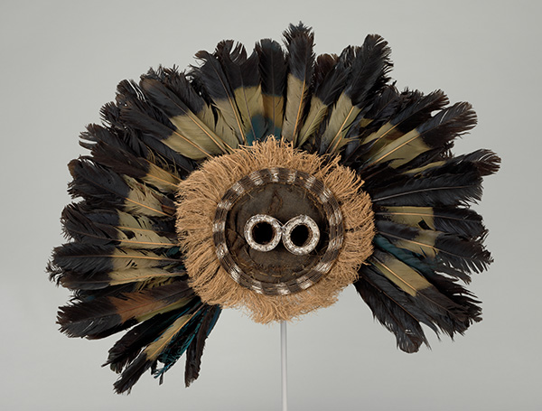 Culture: Pende (Democratic Republic of the Congo). Gitenga Mask. Mid-20th century.