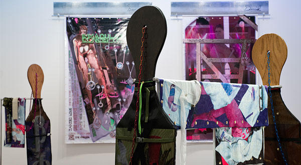 Wickerham & Lomax (Daniel Wickerham and Malcolm Lomax). Detail, Paddles 1-8. 2015. Courtesy of the Artists.
