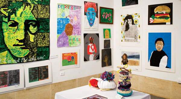 Student Art Exhibitions