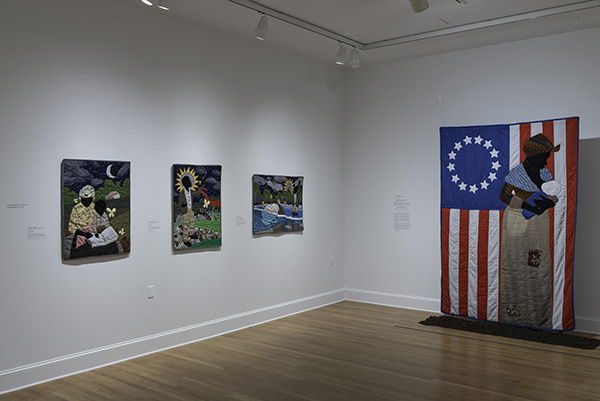 Installation view, Stephen Towns: Rumination and a Reckoning. Photography by Mitro Hood.