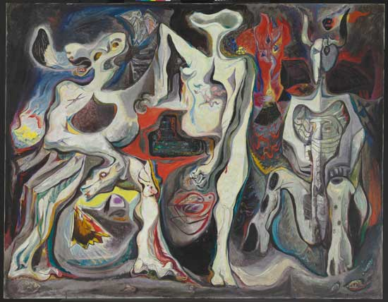 André Masson. There Is No Finished World. 1942. The Baltimore Museum of Art: Bequest of Saidie A. May, BMA 1951.333. © Artists Rights Society (ARS), New York / ADAGP, Paris