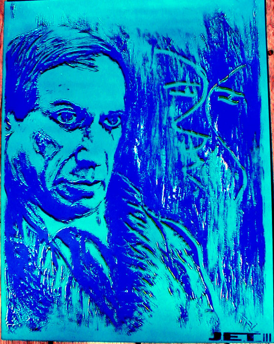 Picasso-blue-ii_card