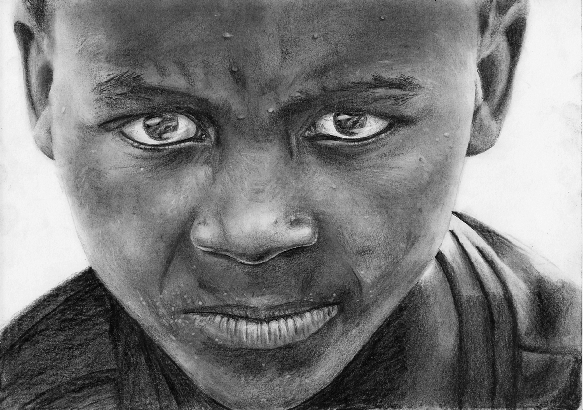 How to draw portraits – child