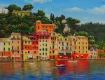 How to Paint Portofino Harbour in Oil