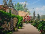 How to paint a Tuscan Landscape in Oil Part 1