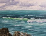 How to paint the sea and waves part 1